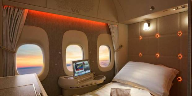 Emirates to unveil 'zero-gravity' seats