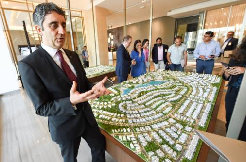 A new 'beach' is in the making in Dubai city