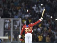 Gayle ton leads Punjab to victory over Sunrisers