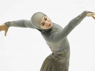 Pictures: UAE's first global figure skater