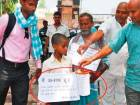 Orphan begs on streets to raise money for bribe