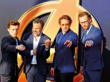 'Avengers' come out to talk, but not much