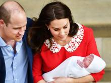 Meet Prince William and Kate's new son
