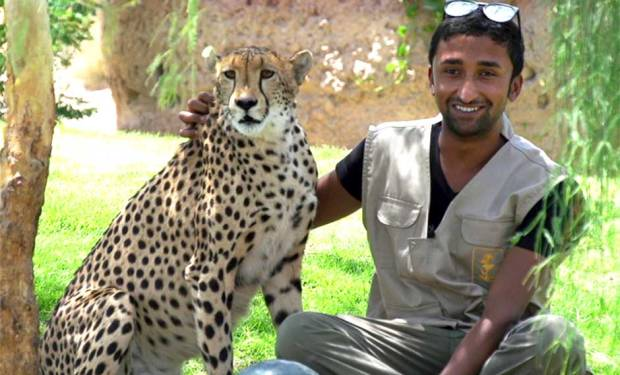 Meet Emirati animal trainers
