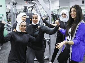 Saudi women take to the gyms to stay in shape