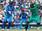 File photo: Pakistan batsman Shoaib Malik, right, plays at the ball as India's wicketkeeper MS Dhoni watches during the ICC Champions Trophy final between Pakistan and India at the Oval in London, Monday, June 19, 2017.