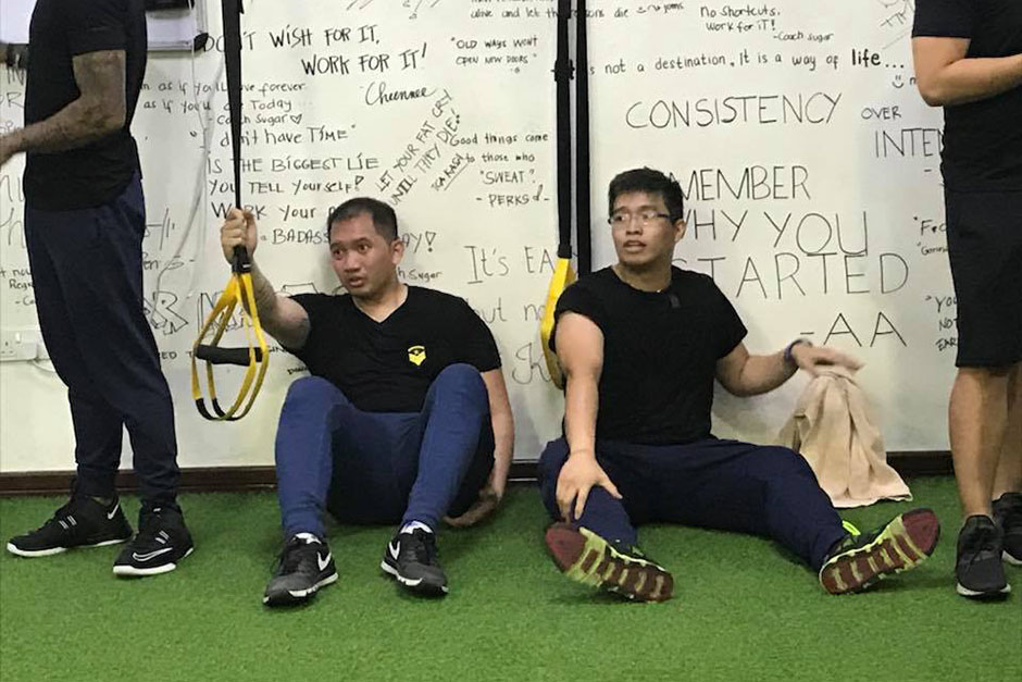 Twenty-two Filipinos in the UAE underwent a six-week fitness challenge with weekly feats.