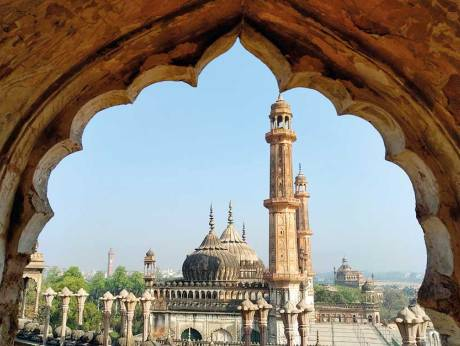 a marvellous example of mughal architecture