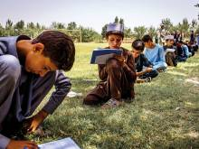 In Afghanistan, new schools but no pupils
