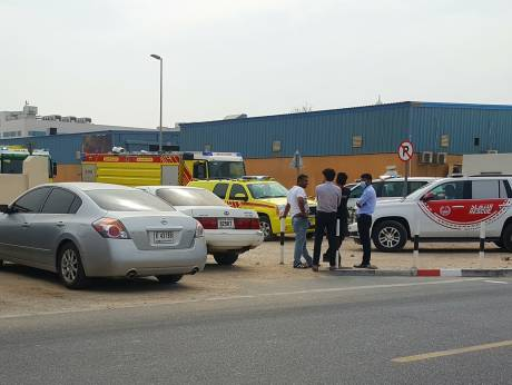 Fire damages Al Qouz warehouse