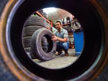 New car tyres should be less than 150 days old