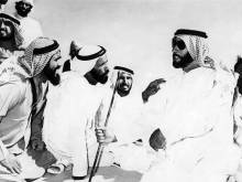 Zayed's green desert came about from water