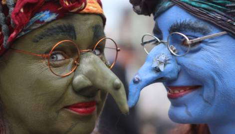 Festival of the witches: Weird but True
