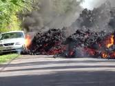 Kilauea volcano jolts with lava, quakes and gas