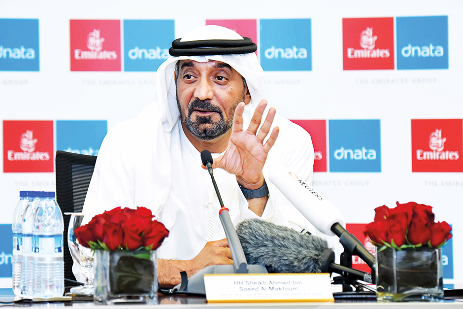 Shaikh Ahmad Bin Saeed Al Maktoum, President of Dubai Civil Aviation and Chairman and Chief Executiv