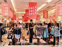 Massive rush at malls as Super Sale begins
