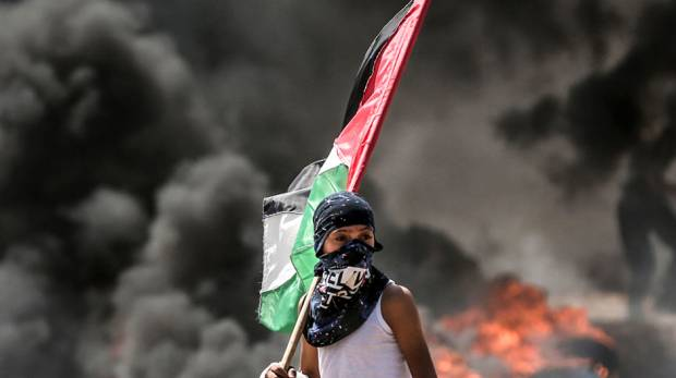 Image result for The latest massacre in Gaza casts a pall over U.S. embassy opening