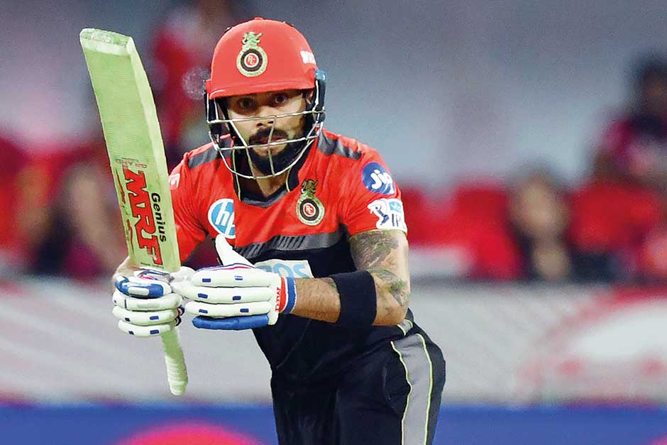 RCB thrash KXIP by 10 wickets