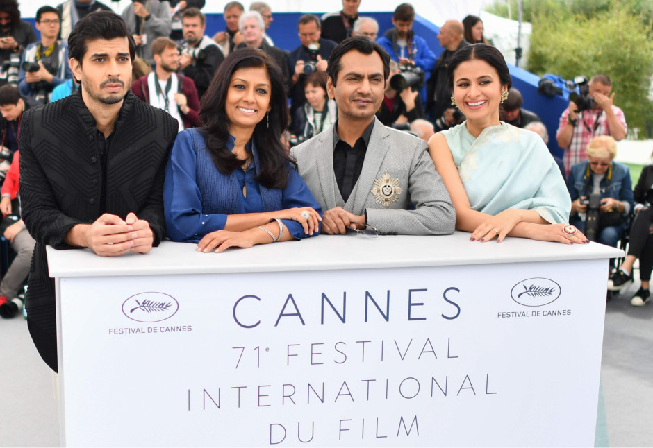 tab  Nandita Das and cast of Manto cannes