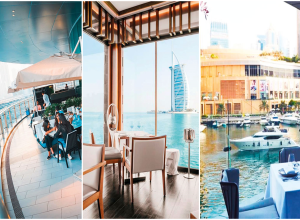 4 Dubai dining spots with a view