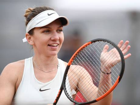 Halep's hold on No. 1 ranking gets a boost