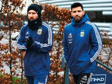 Aguero: Club link-up with Messi impossible