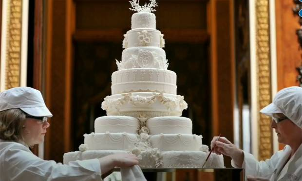 Royal wedding cakes through history