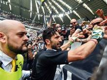 Buffon signs off for Juve, one last time