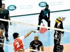 Action from the contest between NAS volleyball champions Surprise and F3 'A' on the opening night of the Sixth Nad Al Sheba Sports Tournament that got under way on Friday.