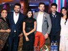 Azra Mohiuddin, Zain Farooqi, Nayab Khan, Mikaal Zulfiqar, Shayan Khan and Komal Farooqi at the meet and greet event of NA BAND NA BARAATI