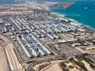Aerial view of Jebel Ali Free Zone.
