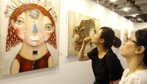 Iconic art fair in Taipei, Taiwan