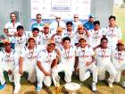Our Own High School, Al Warqa team won the  MGS Vision Cup inter-school Boys Under-15 tournament beating Our Own English High School Sharjah by 77 runs in the final.