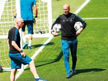 Zidane's dressing room tact key to Real success