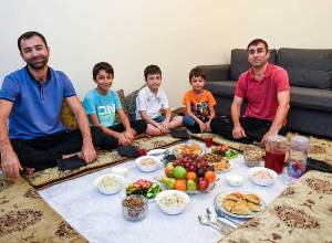 Tajik iftar: Coming together for Osh