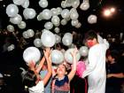 Children playing with balloons during the annual ceremony for orphans organised by Dar Al Ber Society in Dubai.