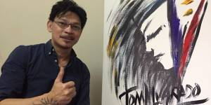 Meet Filipino singing painter in UAE