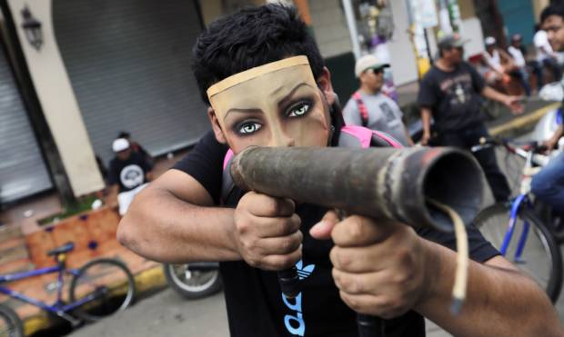 Violent anti-government protests in Nicaragua