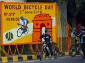 Rally marks the first World Bicycle Day