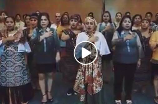 Filipinos in UAE sing for independence
