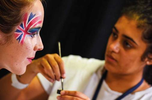 Watch: 5 face-paint looks for World Cup