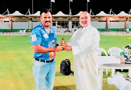 Nicholas turns heads with six sixes in an over