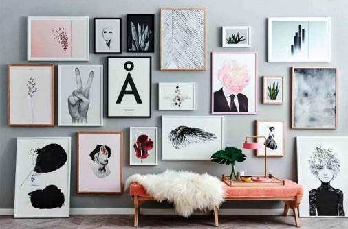 Design Diary: The art of the picture wall