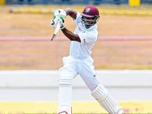 West Indies reply strongly before rain stoppage