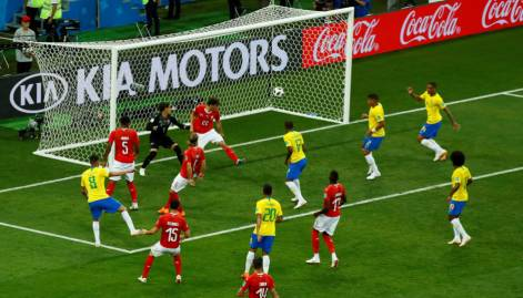 Fifa 2018:  Group E Brazil vs Switzerland