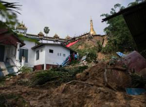 Flash flood hits Myanmar's southern state