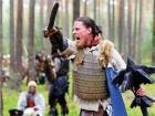 """Participants dressed as characters such as elves, dwarves, goblins and orcs from J.R.R. Tolkien's novel """"The Hobbit"""" re-enact the """"Battle of Five Armies""""."""
