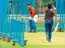 Far from madding crowd, Dhoni readies himself