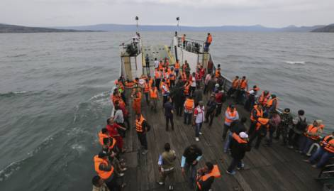 Indonesia ferry sinks in Lake Toba