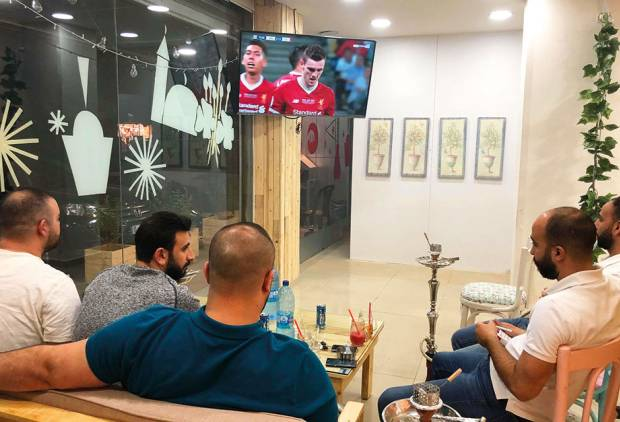 World Cup a welcome distraction for Lebanese